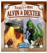 Asmodee Ticket to Ride Alvin & Dexter Expansion Board Game