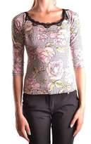 Anna Molinari Women's Multicolor Viscose Top.