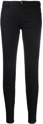 Emporio Armani Denim Logo Tape Skinny Jeans