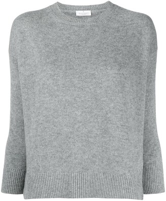 Bruno Manetti Crew Neck Wool-Blend Jumper