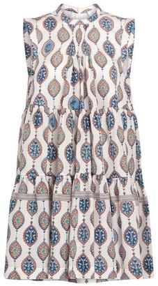 Chloé Silk Floral Print Dress