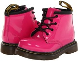 Dr. Martens Kid's Collection - Brooklee B 4-Eye Lace Boot Girls Shoes
