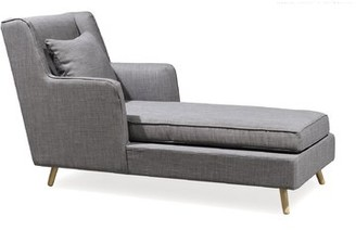 Corrigan Studio Dipasquale Chaise Lounge Color: Barley