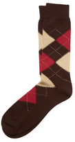 Brooks Brothers Cotton Crew Argyle Socks