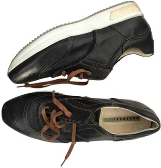 Fratelli Rossetti Brown Leather Trainers