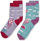 Fat Face Girl's Balloon Socks,(Manufacturer Size: 13-3)