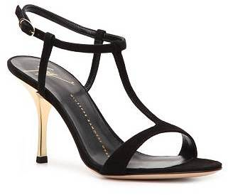 Giuseppe Zanotti Suede Ankle Strap Sandal