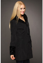 Hilary Radley Reversible to Faux Fur Storm Single Breasted Coat