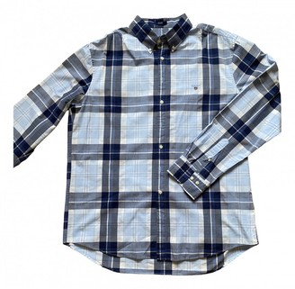 Gant Blue Cotton Shirts