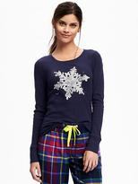 Old Navy Semi-Fitted Thermal Tee for Women