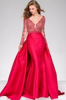 Jovani 46708A Embellished V-neck Mermaid/A-line Dress