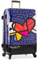 Heys Britto Heart with Wings Expandable Hardside Spinner Luggage