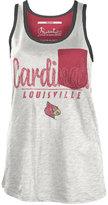 Royce Apparel Inc Women's Louisville Cardinals Campbell Pocket Slub Tank