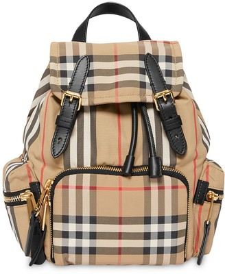 Burberry small Vintage Check Icon Stripe backpack