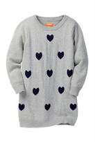 Joe Fresh Heart Knit Dress (Toddler & Little Girls)