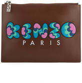 Kenzo Women's Occasions A4 Pouch Brown