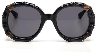 Gucci Oversize Round Sunglasses