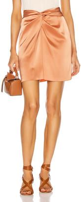 Nanushka Milo Skirt in Apricot | FWRD