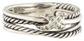 David Yurman Diamond X Ring