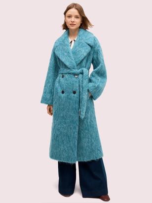 Kate Spade Long-Haired Wool Coat