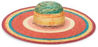Missoni Mare Wide Brim Sun Hat