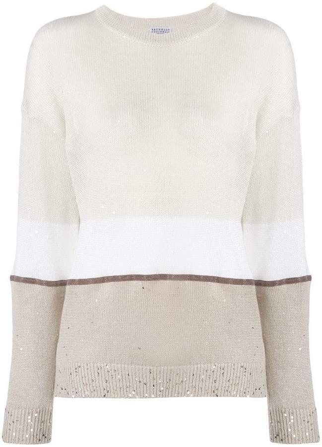3db2dec9ea9 Knitted Sequin Jumper - ShopStyle UK