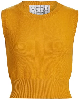 Victor Glemaud Sleeveless Merino Wool Knit Top
