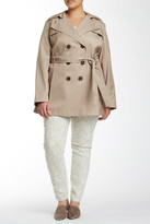 Via Spiga Hooded Jacket (Plus Size)