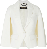 Burberry Cape-Back Double-Faced Wool Jacket