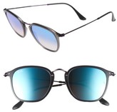 Ray-Ban Women's Wayfarer 51Mm Sunglasses - Transparent Blue