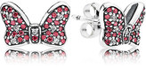 Disney Minnie Mouse Sparkling Bow Earrings by PANDORA