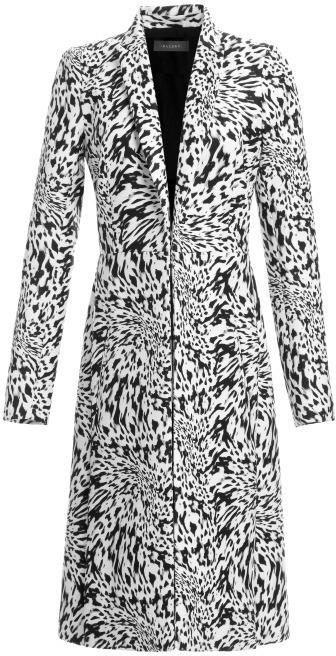 Ellery Preorder Black On White Crown Derby Coat