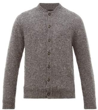Howlin' - Wool Bomber Jacket Cardigan - Mens - Grey