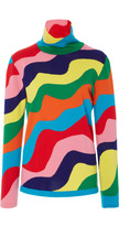 Mira Mikati Rainbow Turtleneck Knit