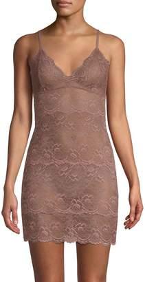 Samantha Chang All Lace Slip Dress