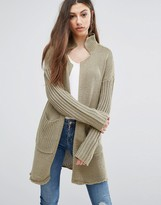 Noisy May Vera Open Knit Cardigan