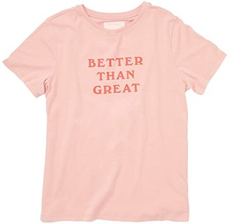 ban.do Better Than Great Classic Tee (Pink) Women's Clothing