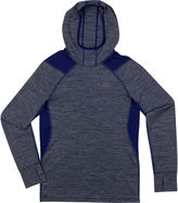 New Balance Boys Long Sleeve Hooded Performance T-Shirt-Preschool