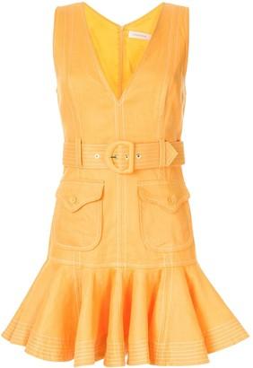 Zimmermann Super Eight Safari mini dress
