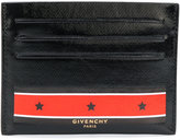 Givenchy stars and stripes printed cardholder - men - Cotton/Polyester/Polyurethane - One Size