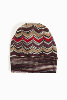 Missoni Knit Zigzag Hat