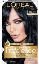 L'Oreal Superior Preference Fade-Defying Color + Shine System, 2BL Black Sapphire (Packaging May Vary)