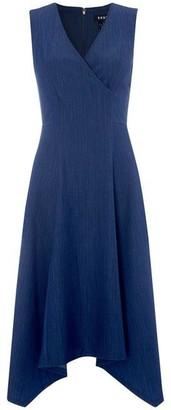 DKNY Occasion Sweetheart Neckline Dress