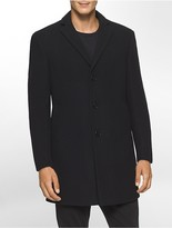 Calvin Klein X Fit Ultra Slim Fit Solid Overcoat
