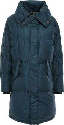 Belstaff Rowlock Quilted Cotton-blend Shell Down Jacket