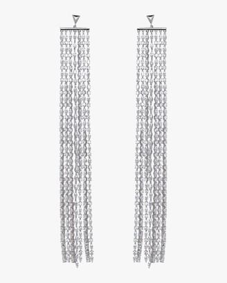 Fallon Marquis Waterfall Silver Earrings