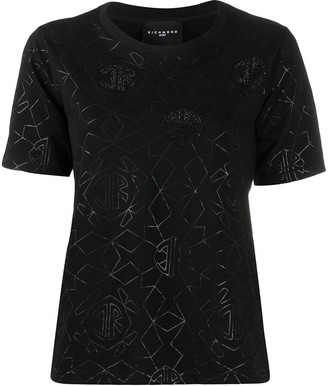 John Richmond Nieves rhinestone-embellished T-shirt