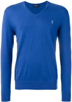 Polo Ralph Lauren V-neck jumper - men - Cotton/Cashmere - S