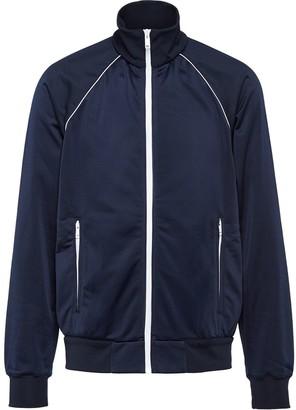 Prada Ladder-proof cotton fleece jacket