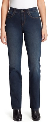 Gloria Vanderbilt Women's Revolution Solution Straight-Leg Jeans